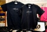 Big Dipper - Alaska Script Swarovski Crystal Lycra T-Shirt