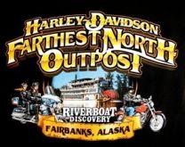 Custom Harley Davidson/ Riverboat Discovery T-Shirt